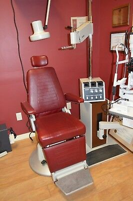Topcon Exam Chair and Stand in Great Condition - No Reserve!