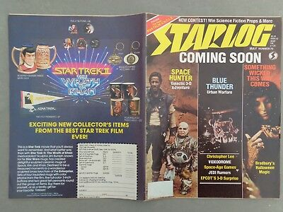 STARLOG mag - No. 70 May 83   Space Hunter   Christopher Lee   Deborah Harry