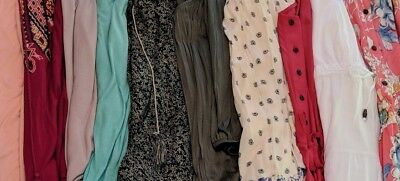 Women's Clothing Lot Xl 1x Boho Romantic Beach Summer Tops Dresses