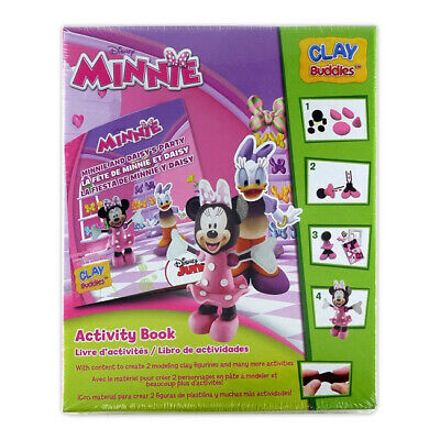 Clay Buddies Starter Pack, Minnie Mouse