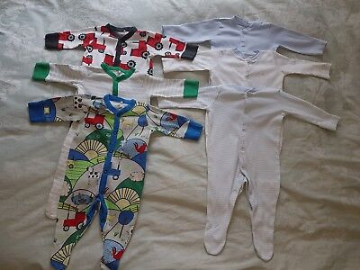 Boys 0-3 Months NEXT Babygrows Sleepsuits Mothercare