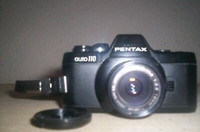Pentax Auto 110  Miniature SLR  World's smallest SLR. 99p no reserve