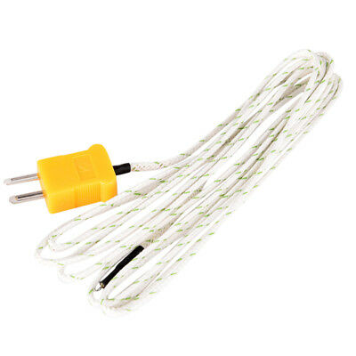 1M/2M/3M K Type Thermocouple Probe Sensor For Digital Thermometer G0