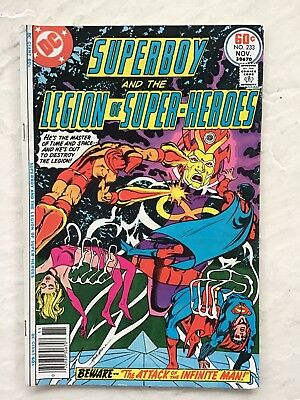 Superboy and the Legion of Super Heroes #233