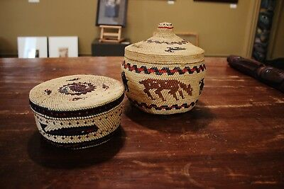 Northwest Coast Makah and Nootka Baskets Native American First Nations