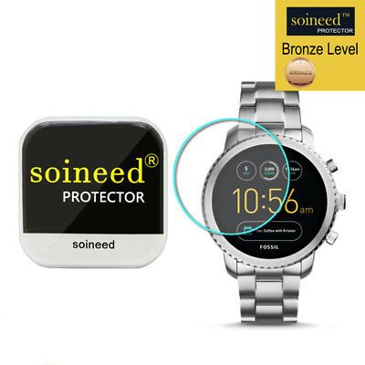 [1-Pack] SOINEED Fossil Q Explorist Gen 3 Tempered Glass Screen Protector Saver
