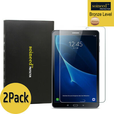 """[2-Pack] SOINEED Tempered Glass Screen Protector For Samsung Galaxy Tab A 10.1"""""""