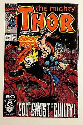 Thor #430  Frenz - Milgrom - Ghost Rider Marvel Comics