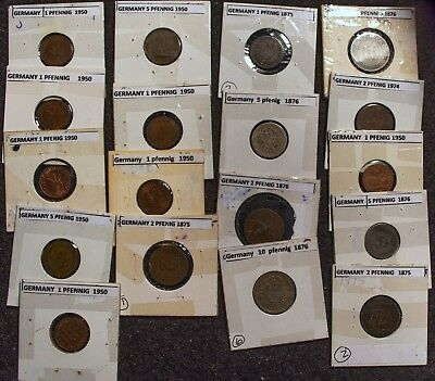18-Coin Germany Collection of Better Coins