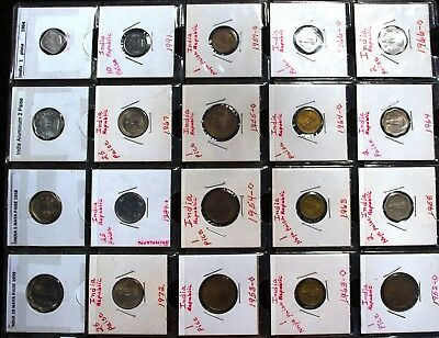 INDIA REPUBLIC collection of 20 coins {#1}