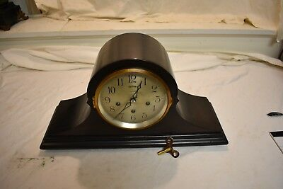"""Antique American Ansonia """"sonia No. 8"""" Model Westminster Chime Parlor Clock"""
