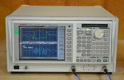 Advantest R3765CG Vector Network Analyzer 300khz-3.8GHz, Tested and Guaranteed
