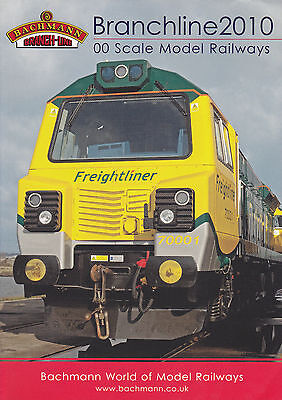 BACHMANN BRANCHLINE OO; 2010 Catalogue. 162 Pages MINT CONDITION