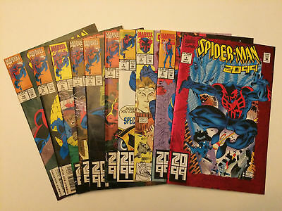 Spider-Man 2099 #1-38 Plus Annual #1 and Special #1 VF or Better 32 Book LOT