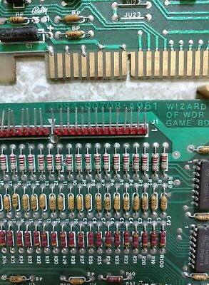 Midway 1981 Wizard of Wor PCB Arcade Game Set of 3 Boards