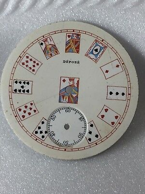 awesome deck of cards watch dial