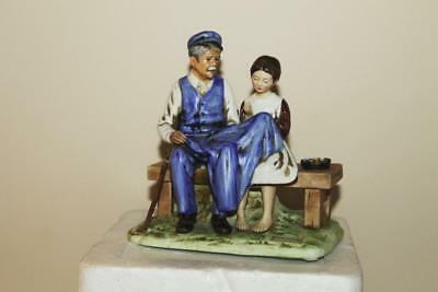 1979 Norman Rockwell The Lighthouse Keepers Daughter Figurine Statue Mint