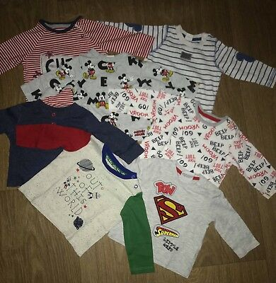 baby boy long sleeve tops 0-3 months