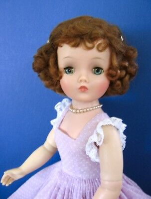 Vintage Hard Plastic, Vinyl Cissy Doll Made By Madame Alexander In The Mid 50's