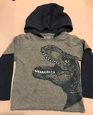 The Children's Place Toddler Boys Dinosaur Long Sleeve top/tshirt  18-24 months