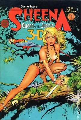 Sheena 3-D Special #1 1985 FN Stock Image