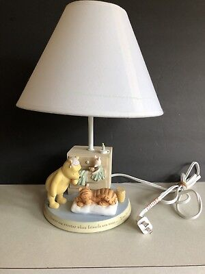 Classic Pooh Lamp Base and Lamp Shade Disney's Winnie the Pooh Michel & Company