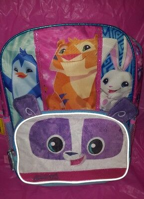 Animal Jam 16 inch Backpack with Side Mesh Pockets NEW