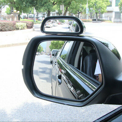 Car Wide Angle Mirror Convex Rearview Side View Mirror Blind Spot Mirrors JR