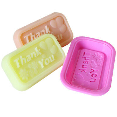 thank you Silicone Soap Molds Making Mould Rectangle Soap Molds Mould Tool JR