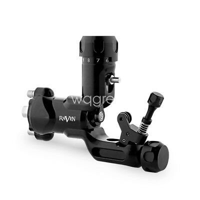 Raven Rotary Tattoo Machine One Touch Hit Adjuster Machine Steel Tattoo Grip