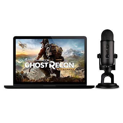 NEW Blue Microphones Yeti Blackout USB Microphone with Tom Clancy's Ghost Recon