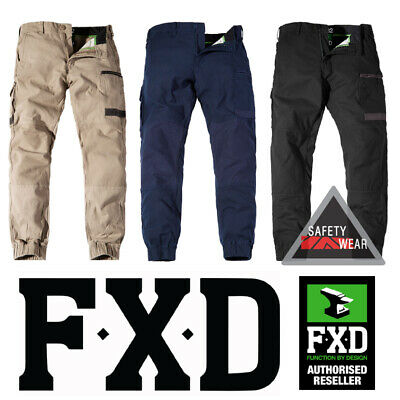 FXD WP-4 Pants [WP-4] Workwear Trousers Regular Fit Stretch Khaki Navy Black