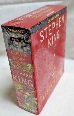 Audiobooks Audio CD Stephen King LISEY'S STORY Complete Excellent 16 CD SET