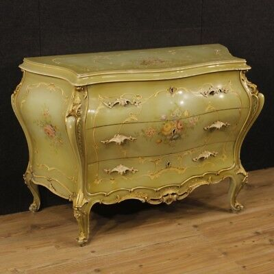 Furniture dresser chest of drawers commode sideboard bedroom lacquered wood