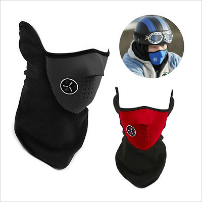 1PC Winter Outdoor Sports Warmer Biker Mask Motorcycle Face Neck Wind Protect