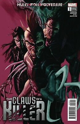 Hunt For Wolverine Claws Of Killer #3 Canete Variant Marvel Comics Near Mint