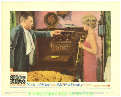 SPLENDOR IN THE GRASS Lobby Card Size MOVIE POSTER Six 1961 Cards NATALIE WOOD