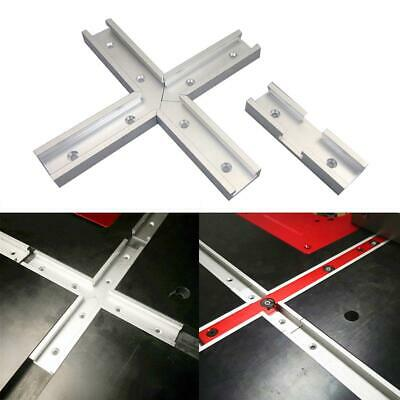 1/4Pcs 100mm T-slot T-tracks Miter Track Jig Fixture Slot Tool for Router Table