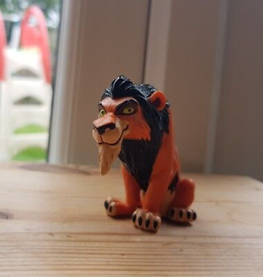 Very Rare Disney Lion King Scar Figure Toy