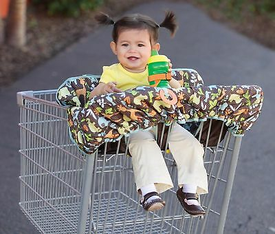 Infant Baby Toddler Compact 2 in 1 Shopping Cart Restaurant High Chair Cover