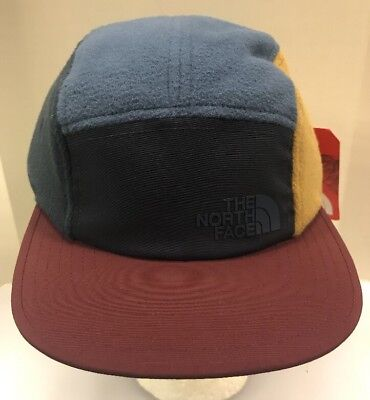 5e5a02d4f1d The North Face Denali Five Panel Hat Shady Blue StrapBack Cap Men Unisex OS  New