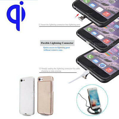 5V/800mA Wireless Charging Receiver Case 2 in 1 For Apple iPhone 7 6S 6 Plus