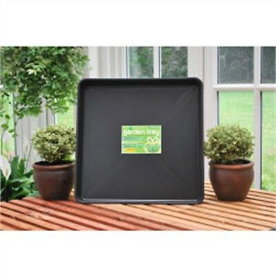 Garland Square Garden Tray, Black