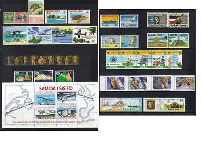 (528) Samoa Mostly Mh Collection Incl Sets & Ms Cat £57+
