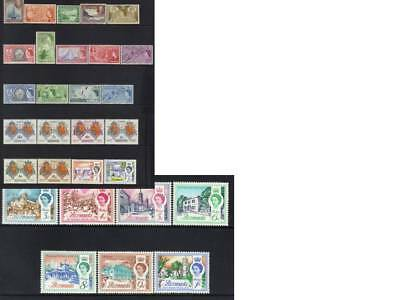 (533) Bermuda 1936-1962 Mh Collection Cat £27+