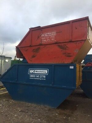 Skips various sizes lockable & Chain 4/10/12/14/20 yard skips, Premium spec, VGC