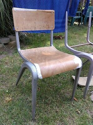 Esavian chairs (4) - 42cm seat hgt - for restoration - Collection ONLY - #2