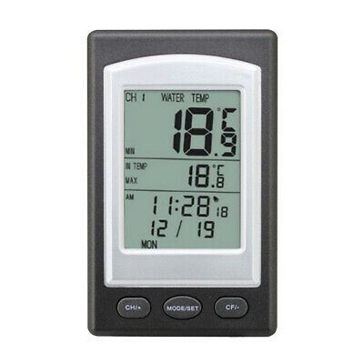 Swimming Pool Floating Thermometer Bath Spa Wireless Remote Base Station