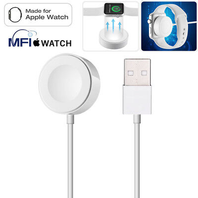 1m Magnetic Charger Charging Cable For Apple Watch iWatch Series 3/2/1 38&42mm