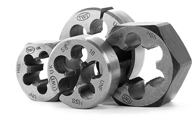 """6x HSS parallel ANSI HEX Die nuts set BSF 3//16/"""" 1//4/"""" 5//16/"""" 3//8/"""" 7//16/"""" 1//2/"""" TS"""